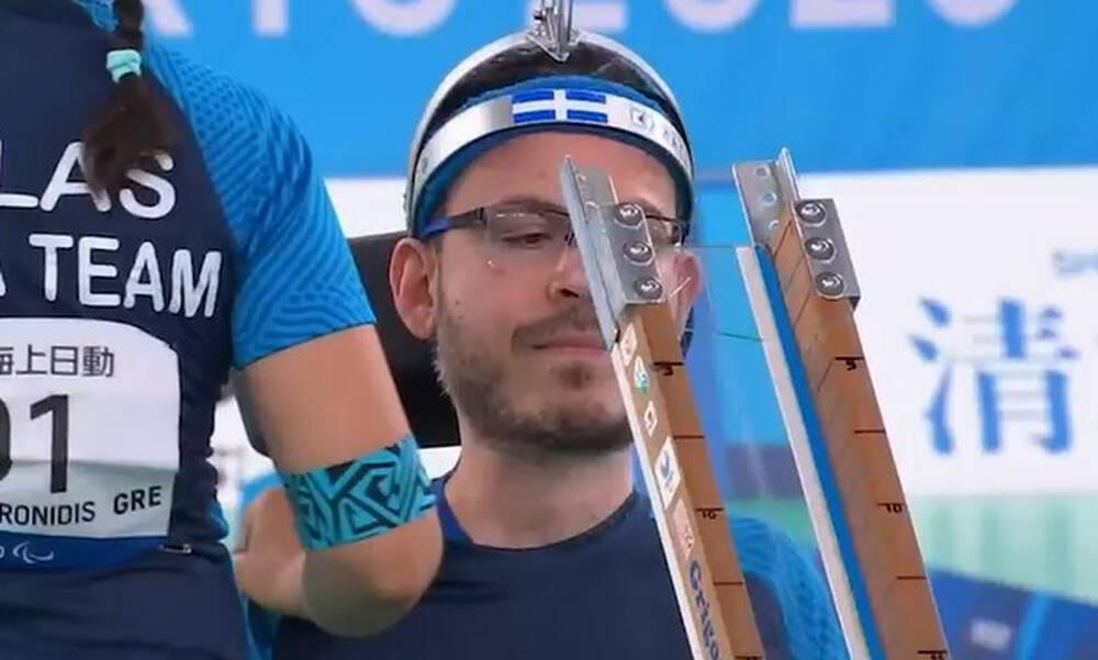 Παραολυμπιακοί Αγώνες: «Ασημένιος» ο Πολυχρονίδης στο μπότσια (video)