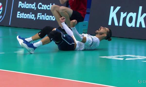 Ευρωπαϊκό Πρωτάθλημα: ΜΑΓΙΚΟΣ Πρωτοψάλτης! - Έβγαλε απίθανη άμυνα, πήρε και τον πόντο (video)