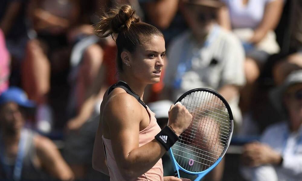US Open: Ασταμάτητη και στους «32» η Σάκκαρη – Σάρωσε και τη Σινιάκοβα (video)