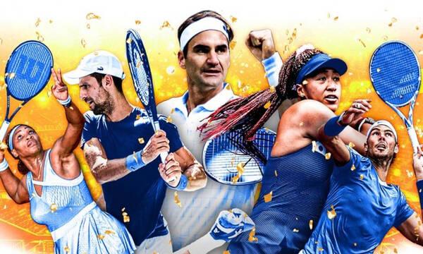 Η χρυσή λίστα Forbes 2021 του τένις – Στην κορυφή ο Φέντερερ, 9ος ο Τσιτσιπάς