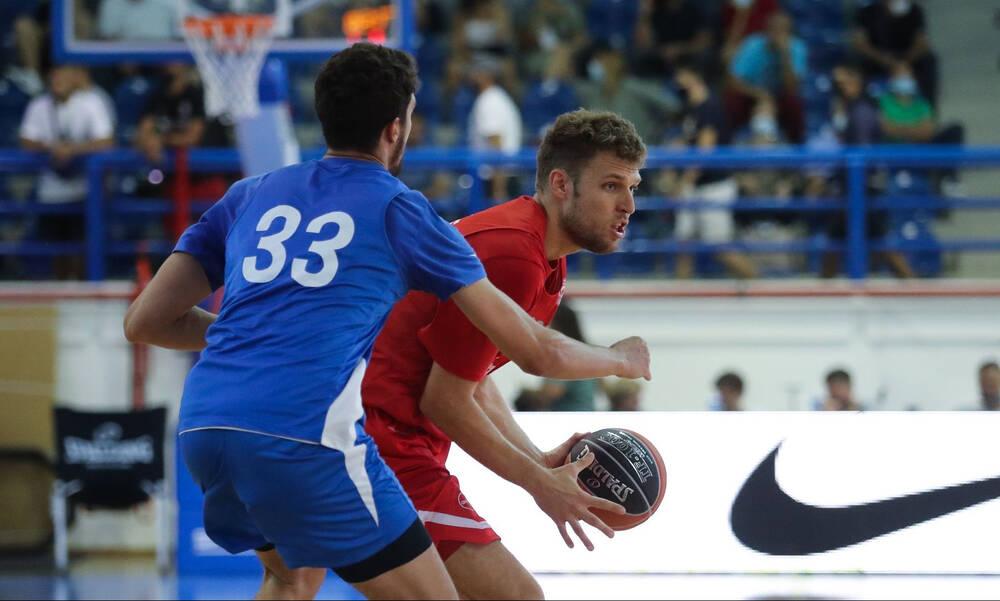 Ιωνικός-Ολυμπιακός 59-98: Άνετα οι «ερυθρόλευκοι