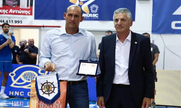 Π. Αγγελόπουλος: «Δυνατός φέτος ο Ολυμπιακός» - Η προσφορά για αγορά πυροσβεστικού στην Εύβοια