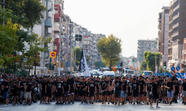 ΠΑΟΚ: Πορεία διαμαρτυρίας κατά κοινωνικών διαχωρισμών!