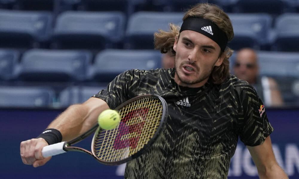 Στέφανος Τσιτσιπάς: Λύγισε και αποκλείστηκε από το US Open (photos)