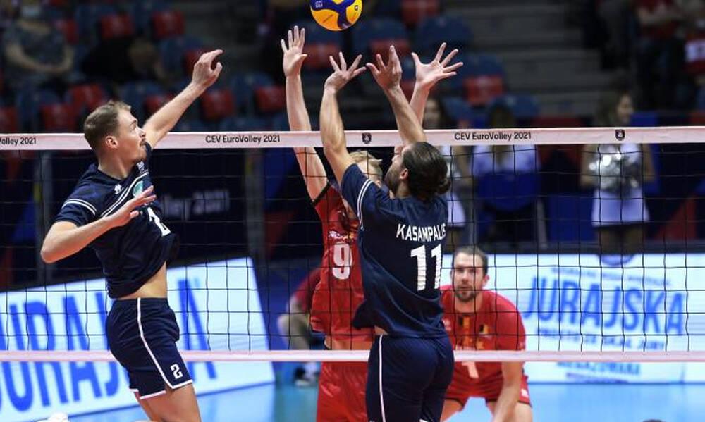 Ευρωπαϊκό πρωτάθλημα - Βόλεϊ ανδρών: Δεύτερη ήττα για την Εθνική (video)
