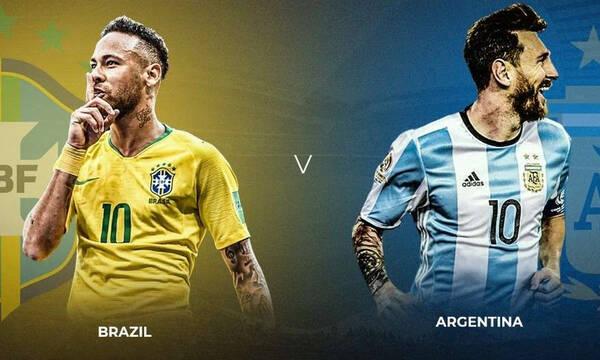 Βραζιλία-Αργεντινή: Η ισορροπία του απόλυτου Εθνικού ντέρμπι! (Photos)