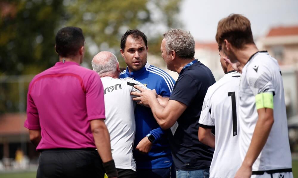 Super League K17: Ένταση στο Άρης-ΠΑΟΚ, που έληξε 1-1 (photos)