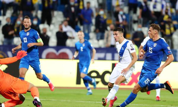 Κόσοβο-Ελλάδα: Προβάδισμα με Δουβίκα - Το πρώτο του γκολ με την Εθνική (video)