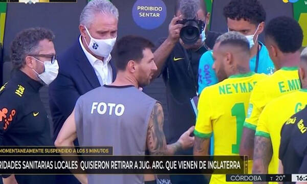 Βραζιλία-Αργεντινή: Έξαλλος ο Μέσι - «Είναι ένα τσίρκο»! (photos+video)