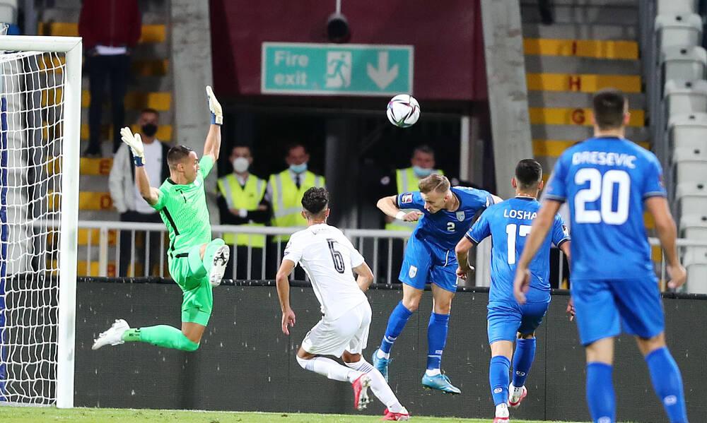 Κόσοβο-Ελλάδα 1-1: Τα highlights της αναμέτρησης - Χλωμιάζει το Μουντιάλ (video)