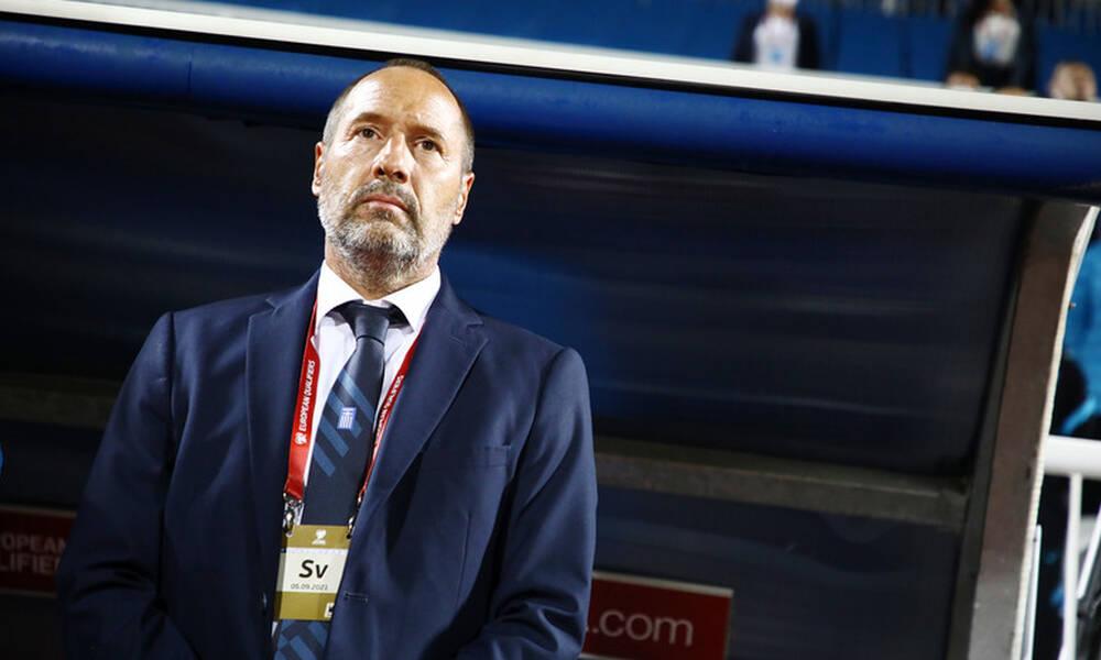 Κόσοβο-Ελλάδα 1-1: Πικραμένος ο Φαν'τ Σχιπ, μίλησε για τη δεύτερη θέση (video)