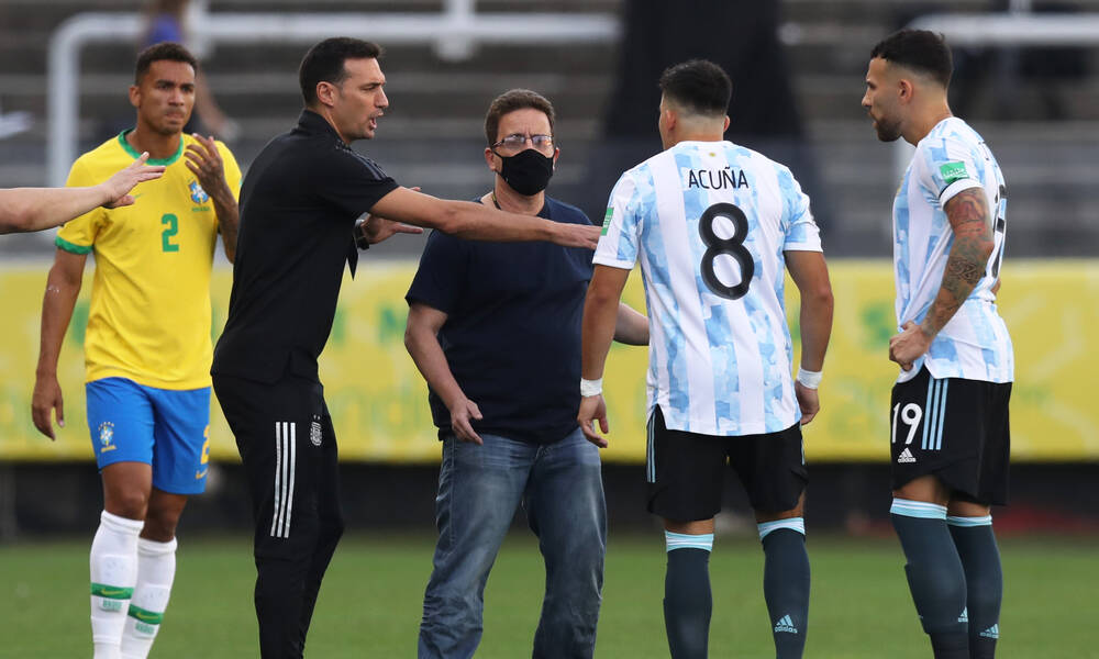 Βραζιλία-Αργεντινή: Η επίσημη θέση της «Αλμπισελέστε» μετά το... χάος (photos)