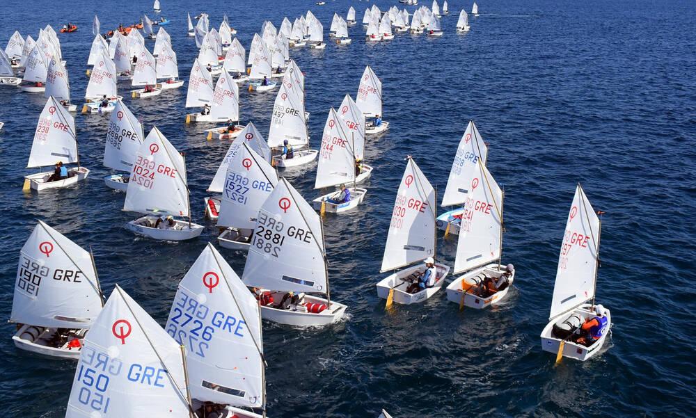 Με 234 σκάφη το Πανελλήνιο Πρωτάθλημα U13 Οπτιμιστ στο Βόλο