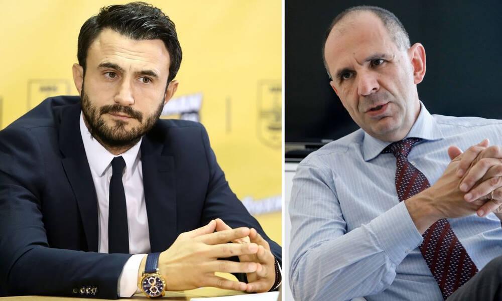Άρης: Στον Γεραπετρίτη για το -6 ο Καρυπίδης - Συζητήθηκε και το νέο γήπεδο