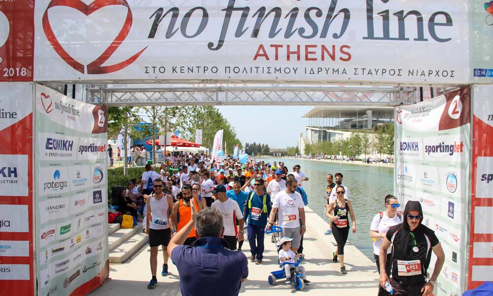 No Finish Line Athens: Λήγει η διορία των εγγραφών - εμβολιασμένοι οι δρομείς