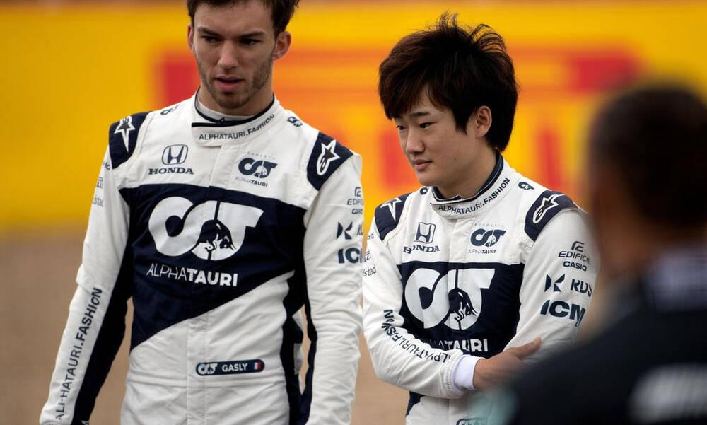 Formula 1: Και το 2022 στην AlphaTauri Γκασλί και Τσουνόντα