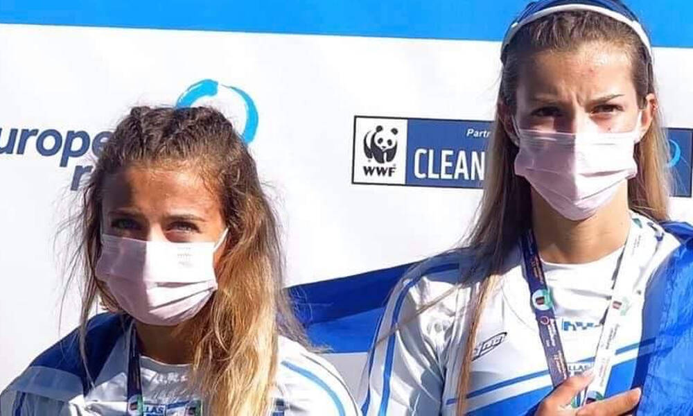 Στην κορυφή της Ευρώπης η ΟΠΑΠ Champion Ευαγγελία Αναστασιάδου και η Ευαγγελία Φράγκου