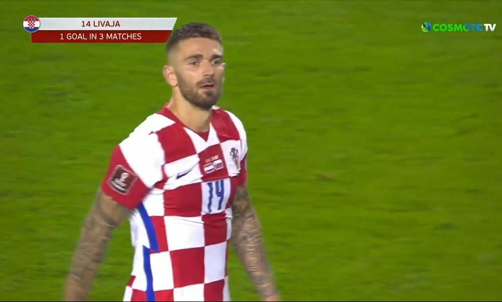 Ιστορικό γκολ για τον Μάρκο Λιβάγια με την Κροατία (video)