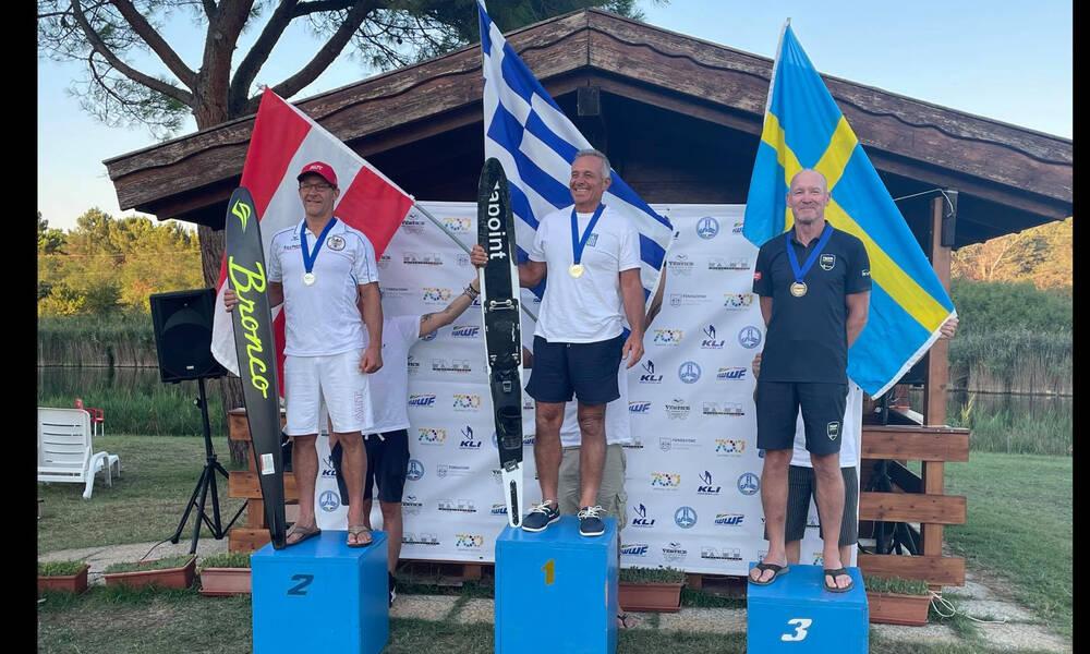 Πανευρωπαϊκό Πρωτάθλημα Θαλασσίου Σκι: Πρωταθλητής ο Σωτήρης Κύπριος