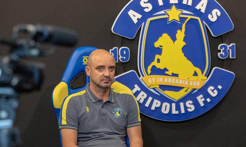 Ράσταβατς: «Πιο ώριμος φέτος ο Αστέρας – Στόχος τα play off»