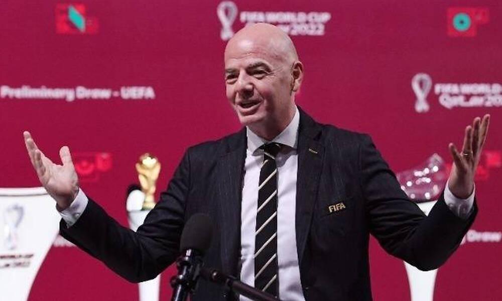 FIFA: Επιμένει ο Ινφαντίνο για Μουντιάλ κάθε δύο χρόνια!