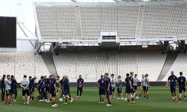 Ελλάδα-Σουηδία: Με 4-4-2 και Γιόχανσον ξανά στο ΟΑΚΑ οι Σκανδιναβοί (photos)
