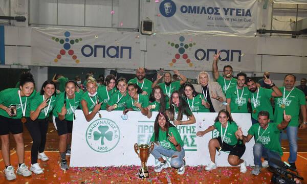 Μπάσκετ γυναικών - Παναθηναϊκός: Σήκωσαν την κούπα οι «πράσινες»