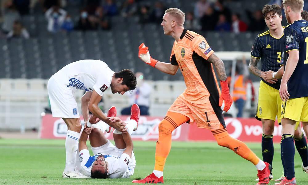 Ελλάδα-Σουηδία: Απίθανη ευκαιρία για το 1-0 έχασε ο Παυλίδης! (video+photos)