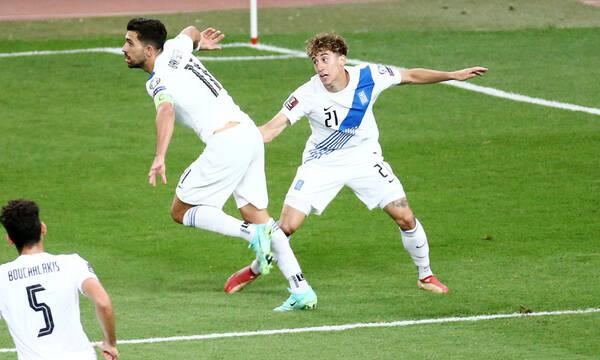 Ελλάδα-Σουηδία: Έκρυψαν τη μπάλα οι διεθνείς, υπέροχο γκολ για το 1-0 ο Μπακασέτας! (videο+photos)