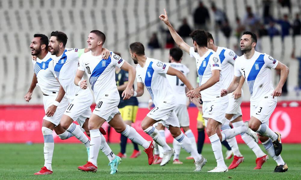 Ελλάδα-Σουηδία 2-1: Τα highlights του θριάμβου της Εθνικής με Μπακασέτα, Παυλίδη! (video+photos)