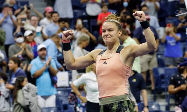 US Open: Έτσι πήρε τη σπουδαία πρόκριση η Σάκκαρη (video)