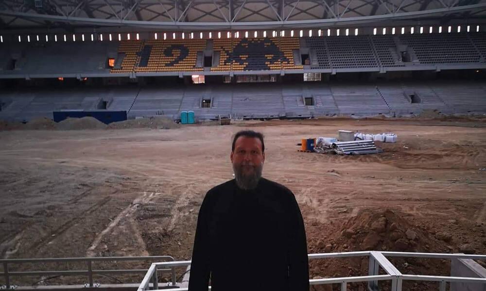 ΑΕΚ: Στο «Αγιά Σοφιά - OPAP Arena» ο Μητροπολίτης Γαβριήλ