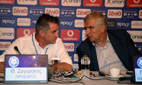 ΕΠΟ: Αντίδραση Δημητρίου για Ζαγοράκη - «Ντόμπρος και μπεσαλής» (photos)