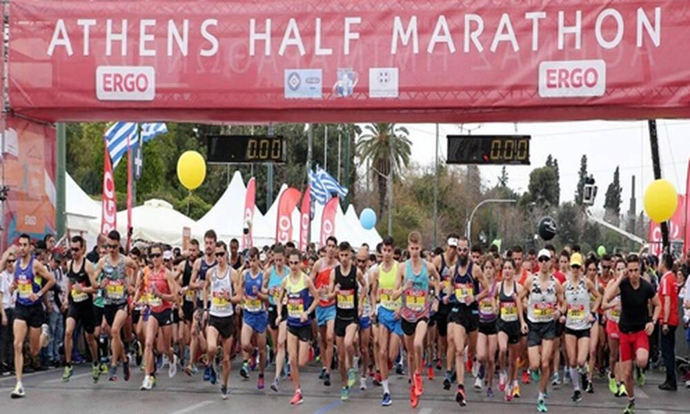 Σήμερα ο 9ος Ημιμαραθώνιος Αθήνας που σηματοδοτεί την επανέναρξη των μαζικών αγώνων δρόμου