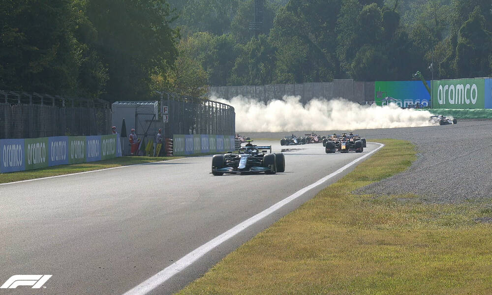 Formula 1: Ατύχημα για τον Σάινθ – Προσέκρουσε στις μπάρες (photos)