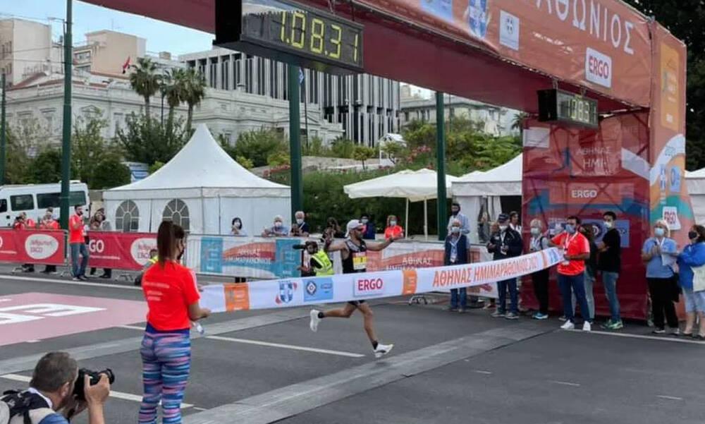 9ος Ημιμαραθώνιος Αθήνας: Καραΐσκος και Ασημακοπούλου πρώτευσαν στο Πανελλήνιο Πρωτάθλημα