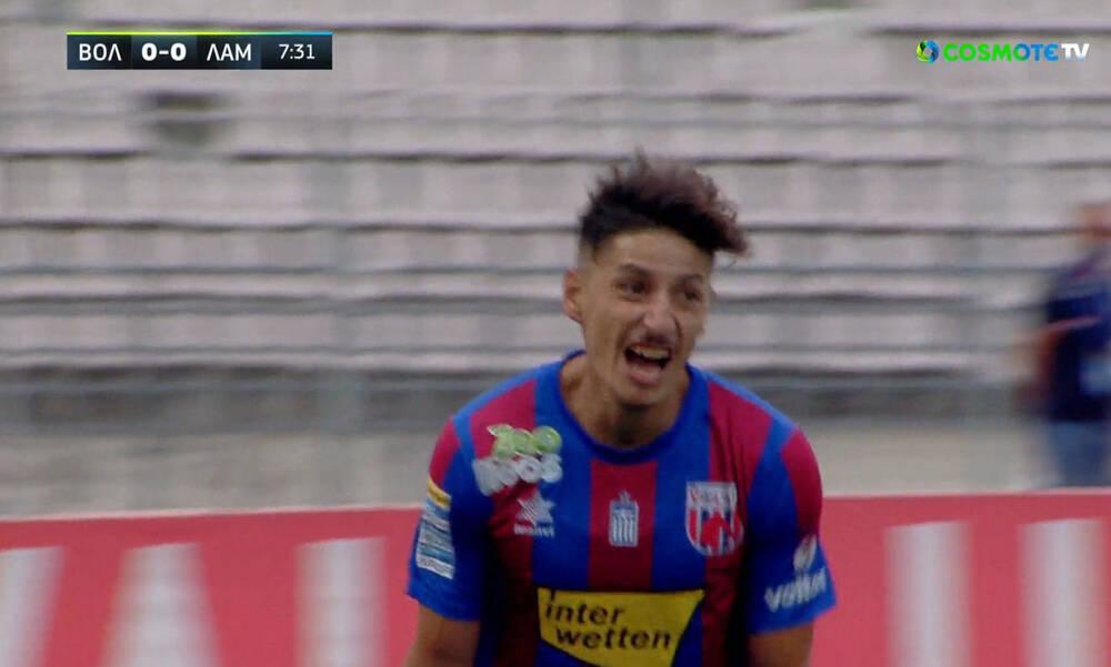 Βόλος-Λαμία: Ο Μπαρτόλο πήρε το δώρο από τον Αντέτζο κι έγραψε το 1-0! (video)