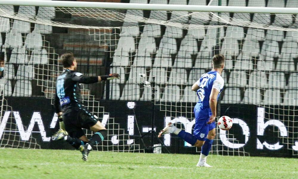 ΠΑΟΚ-ΠΑΣ Γιάννινα: To τραγικό λάθος του Ζίβκοβιτς και το γκολ του Κόντε (photos+video)