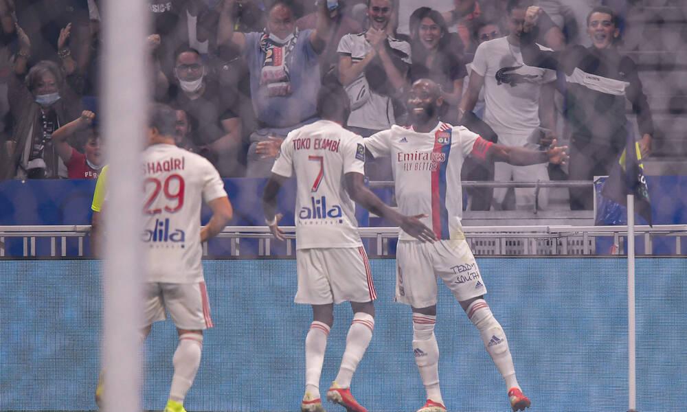 Ligue 1: Άνετη νίκη για τη Λιόν (photos)