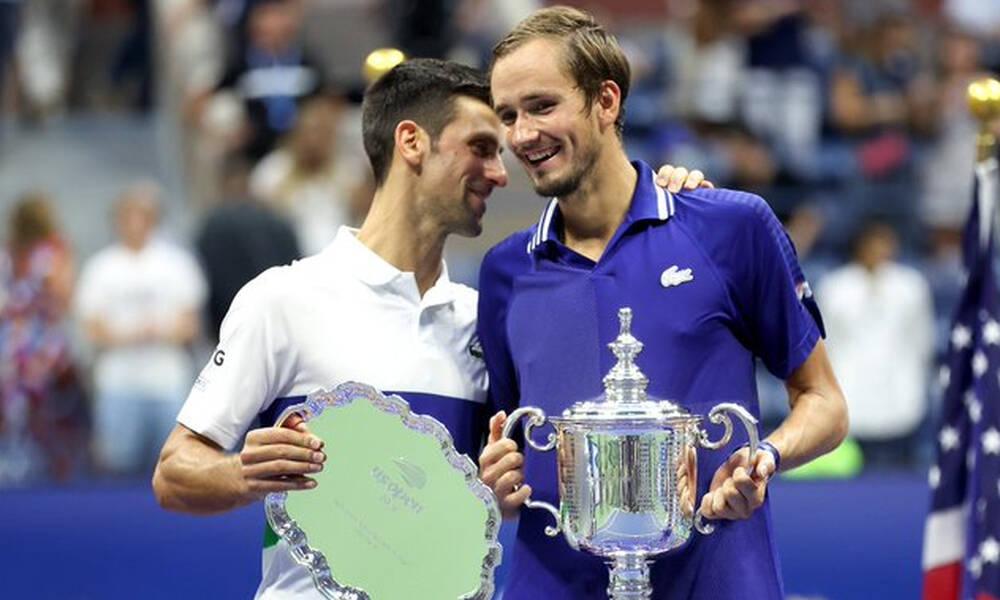 US Open: Νέος «βασιλιάς» ο Μεντβέντεφ - Πρώτο Grand Slam κόντρα στον Τζόκοβιτς
