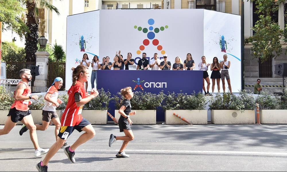 Ο Ημιμαραθώνιος της Αθήνας επέστρεψε με χορηγό τον ΟΠΑΠ (photos)