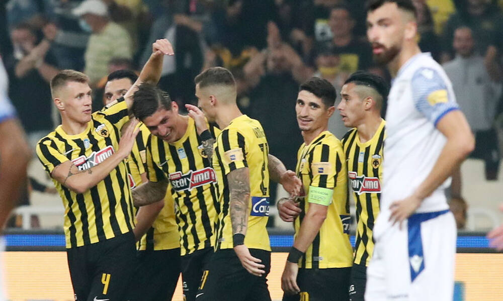 AEK: Τσούμπερ και Άμραμπατ επαθαν... πλάκα - Τι έλεγαν μετά την πρεμιέρα (photos+video)