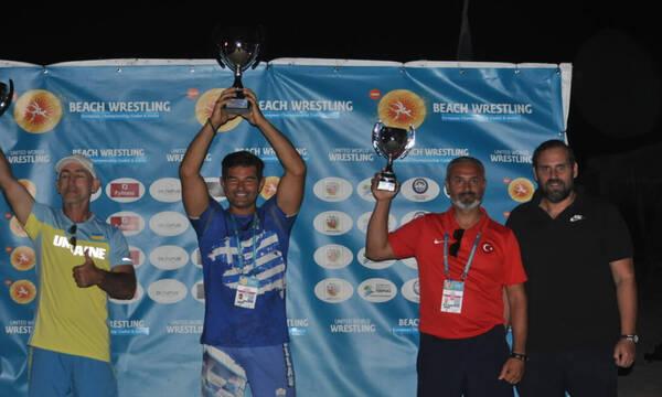 Πρωταθλήτρια Ευρώπης η Ελλάδα στην Πάλη στην Άμμο!