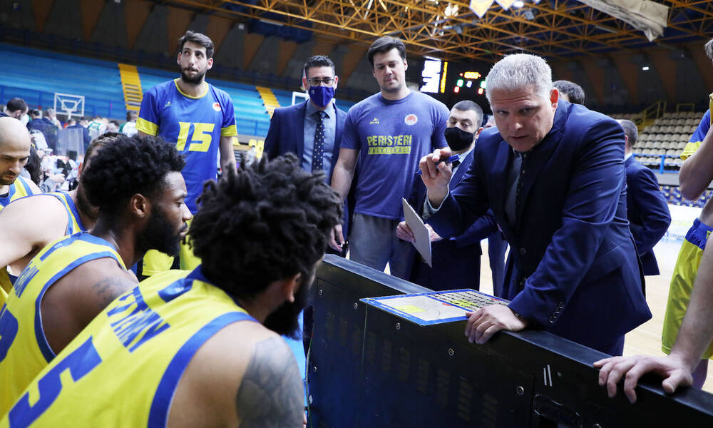 Περιστέρι-Μανωλόπουλος: Είμαστε έτοιμοι για το ματς απέναντι στην Κλουζ