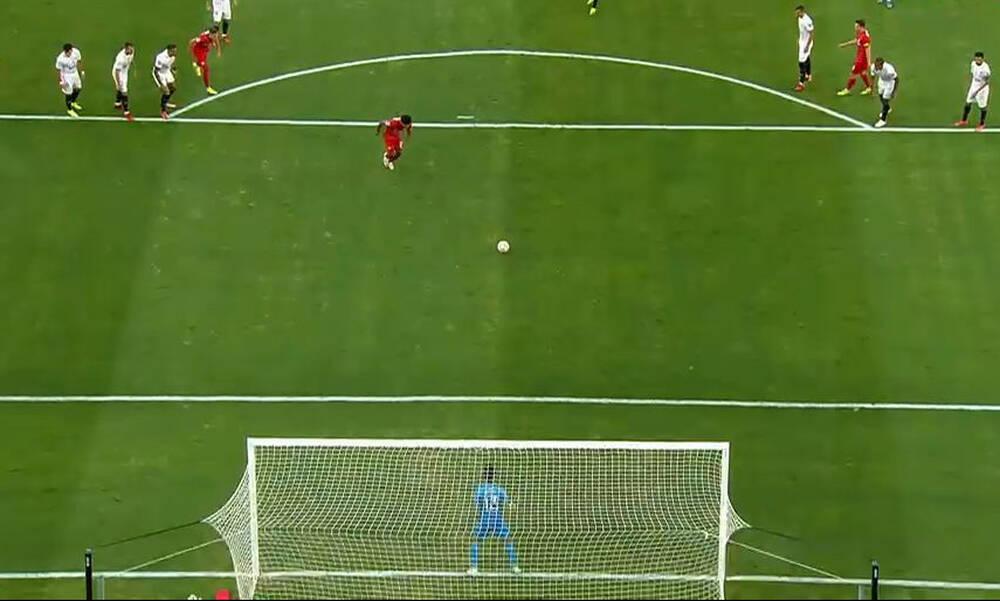 Champions League: Απίθανα πράγματα στο Σεβίλλη-Σάλτσμπουργκ - Τέσσερα πέναλτι σε ένα ημίχρονο