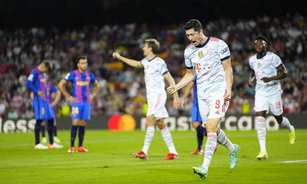 Champions League: Βαυαρική επέλαση στη Βαρκελώνη – Το πανόραμα και όλα τα γκολ