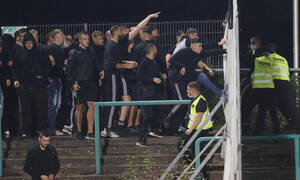 Τρομερές εικόνες στη Γερμανία: Σε κρίσιμη κατάσταση δύο οπαδοί μετά από επεισόδια