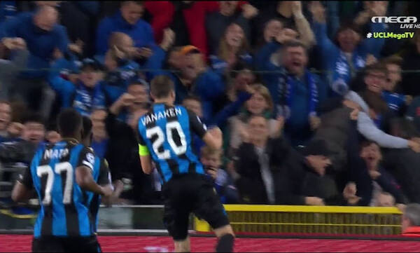 Champions League - Μπριζ-Παρί Σεν Ζερμέν: Γκολάρα και 1-1, δοκάρι ο Μέσι