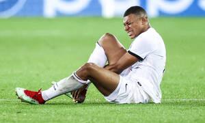 Champions League: Συναγερμός με Εμπαπέ στην Παρί Σεν Ζερμέν - Τραυματίστηκε και αποχώρησε
