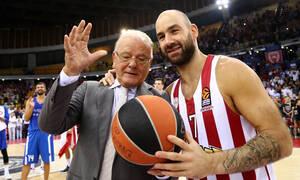 Ντούσαν Ίβκοβιτς: Συντετριμμένος ο Σπανούλης - «Ήσουν το ίδιο το μπάσκετ» (photos)